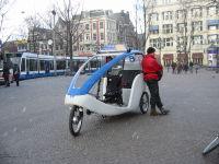 Велотакси в Амстердаме